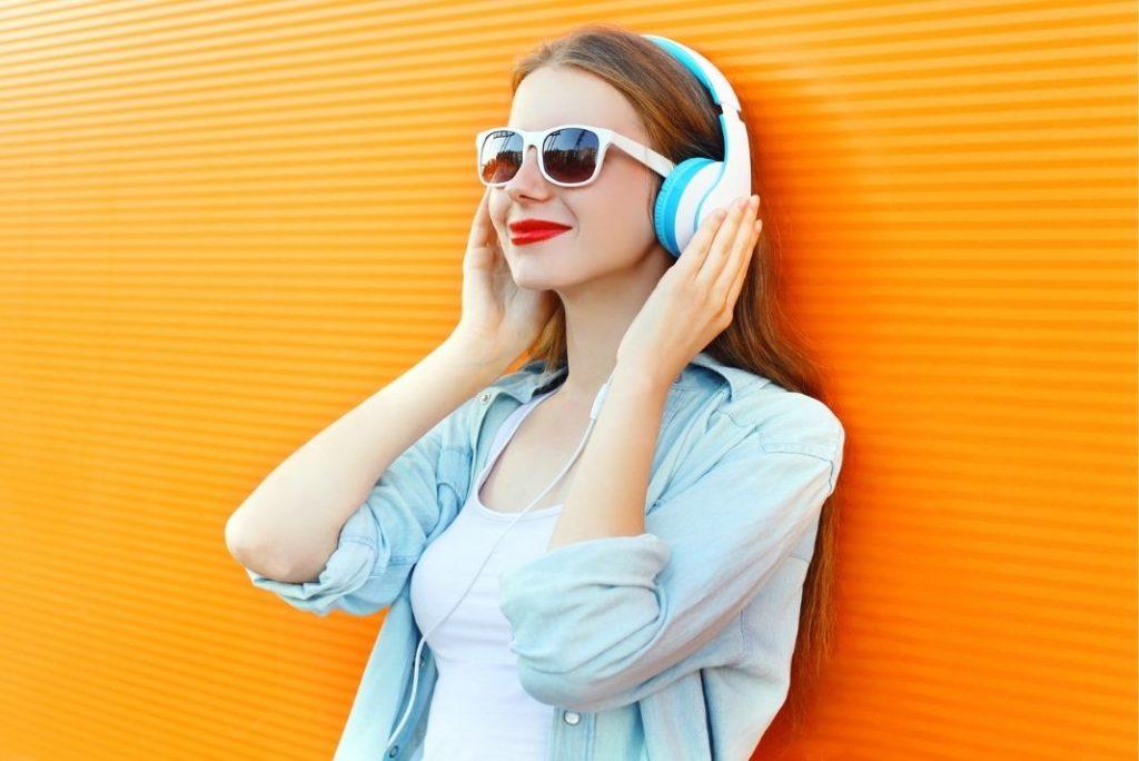 podcasts bien-être lunettes soleil